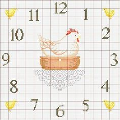 GALLINA Cross Stitch Kitchen, Just Cross Stitch, Cross Stitch Designs, Cross Stitch Patterns, Palestinian Embroidery, Paper Crafts, Diy Crafts, Cross Stitching, Needlework