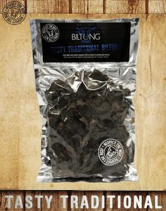 TASTY TRADITIONAL BILTONG Delicious and simple it''s more than a mouth full. Packed with original flavour and made in the traditional South African way, this is pure UK beef at its best. Biltong, South African Recipes, Spicy, Packing, Tasty, Beef, Treats, Pure Products, Traditional