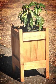 Reclaimed Wood Pallet Planter For Garden on Etsy, $60.00