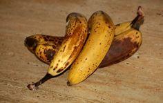 Rezept für Eis aus überreifen Bananen