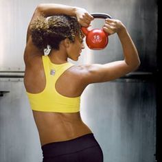 Melt 300 calories in just 15 minutes with kettlebell workout!