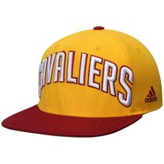 7f531ebe05d Cleveland Cavaliers adidas On Court Snapback Adjustable Hat - Gold Wine -   20.99