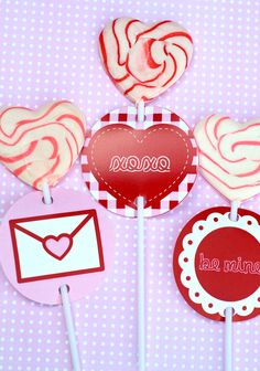 Love Note Valentine Party PRINTABLE from Love The Day. $15.00, via Etsy.