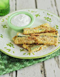 Featured Recipe: Parmesan Zucchini Strips