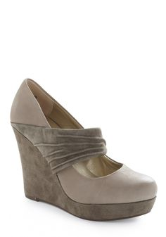 I love grey shoes.  Out of my price range, but also out of my size, so no worries about breaking the bank.
