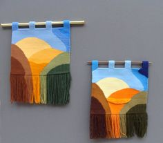 Tapices Galicia: Nosas Escolas de Tapiz Culleredo Weaving Loom Diy, Weaving Art, Tapestry Weaving, Hand Weaving, Loom Knitting Stitches, Diy Crafts For Kids Easy, Weaving Wall Hanging, Blackwork Embroidery, Weaving Textiles