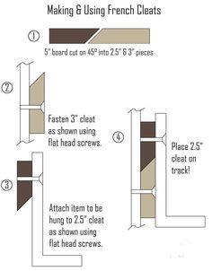 Build Modular Workbench Storage with French Cleats | Make: Diy Garage Storage, Tool Storage, Modular Storage, Storage Ideas, Lumber Storage, Paper Storage, Woodworking Crafts, Woodworking Plans, Woodworking Basics