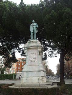 José de Salamanca y Mayol. Plaza del Marqués de Salamanca