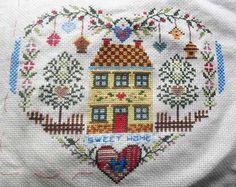 Au coeur de la maison, punto de cruz