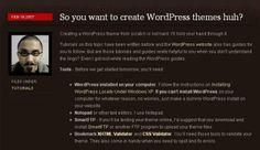 7 Useful Tutorials on how to convert PSD to WordPress