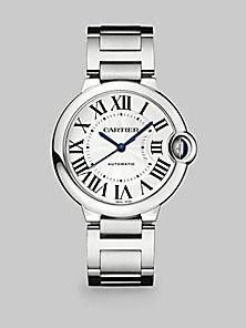Cartier - Ballon Bleu de Cartier Stainless Steel Watch | Saks -- 04/11/14 New Zealand
