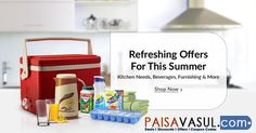 Grab Snapdeal Summer Special Offers On Kitchen Needs & Furnishing.  http://www.paisavasul.com/code/snapdeal-offer-summer-special-on-kitchen-needs-furnishing