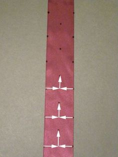 How to Make Ribbon Trim - Threads