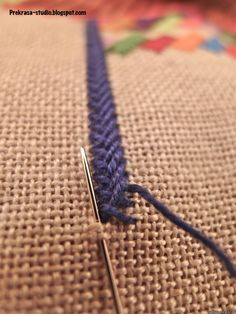 Hand Embroidery Tutorial, Simple Embroidery, Hand Embroidery Stitches, Crewel Embroidery, Hand Embroidery Designs, Embroidery Techniques, Ribbon Embroidery, Cross Stitch Embroidery, Embroidery Patterns