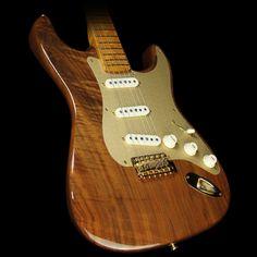 Fender Custom Shop Artisan Stratocaster Electric Guitar Claro Walnut