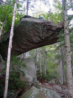 Piazza Rock on the Appalachian Trail