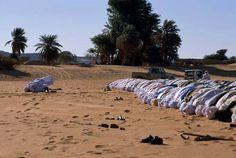 صـلاة العيـد في الصحراء