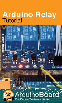 Arduino Relay Tutorial   Driving several types of relay board using any Arduino - CLICK HERE for Tutorial https://arduino-board.com/tutorials/relays