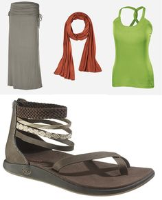 #ISISChacoAdventureGirl  My dream summer outfit...so ready for the warm weather! @Chaco @ISIS Clothing For Women