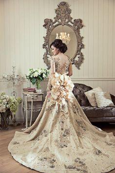 Gorgeous dress - back