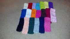 Crochet Headband  Add on to Any Bow or Clip  by Prettyinpinkbiz, $1.00