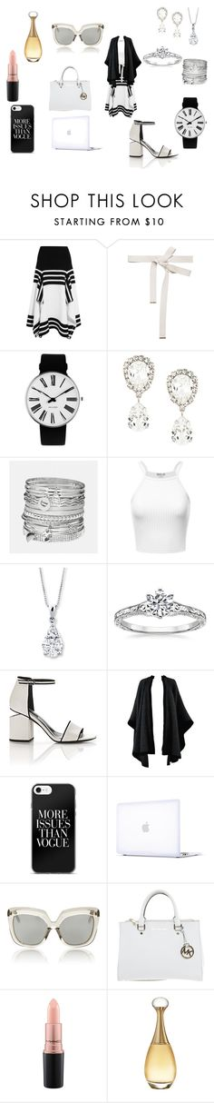 """Untitled #7"" by raven-lilith-ackerman on Polyvore featuring Rosetta Getty, Marni, Rosendahl, Dolce&Gabbana, Avenue, Alexander Wang, Yves Saint Laurent, Incase, Linda Farrow and Michael Kors"