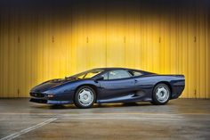 1993 Jaguar XJ220. Such a rare car, this one has only 1,500 miles on the odometer.