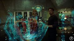 Iron Man 2 by Prologue Films , via Behance
