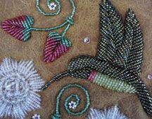 Raised beadwork by Niio Perkins