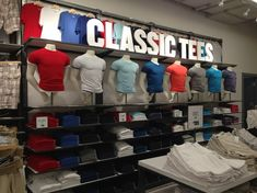 "OLD NAVY,Shanghai, China, ""8 CLASSIC TEES"", pinned by Ton van der Veer"