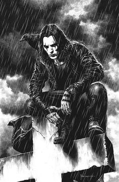 Dark Fantasy Art, Dark Art, Crow Movie, Crow Art, Arte Obscura, Rabe, Gothic Art, The Villain, Comic Books Art
