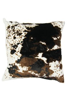 Faux Fur Nguni Print Scatter Cushion| Mr Price Home Online Shopping