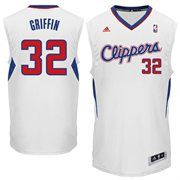 Youth Los Angeles Clippers Blake Griffin adidas White Swingman Home Jersey