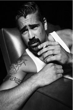 Colin Farrel - by Tom Munro