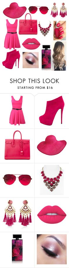 Designer Clothes, Shoes & Bags for Women Too Faced Cosmetics, Essie, Lime Crime, Giuseppe Zanotti, Yves Saint Laurent, Pilot, Valentino, Polyvore, Stuff To Buy
