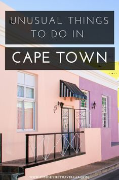 Unusual things to do in Cape Town: explore the tip of South Africa with 19 great ideas from hiking to cooking classes, history trails to witch doctors. Travel to Cape Town offers so many experiences in Africa. #capetown #lovecapetown #africa #southafrica #thingtodo