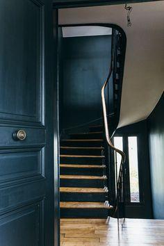 Nuances de bleu & style industriel - FrenchyFancy