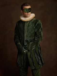"""Family Portrait: Photos by Sacha Goldberger, from goldberger's popular series Super Flemish which re-imagines some of our favorite superheroes and villains as 16th-century Flemish portrait models."""" http://imgur.com/gallery/WV89i"""