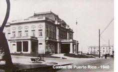 Centro de Recepciones Oficiales del Gobierno. (Antiguo Casino de Puerto Rico)