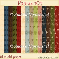 Backing Paper Pattern 105 - £2.00 : Instant Card Making Downloads