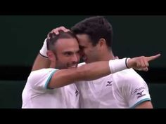 ¡Los Colombianos Cabal y Farah son campeones de Wimbledon! Wimbledon, Try Again, Sons, Miami, Music, Youtube, People, Mens Tops, Champs