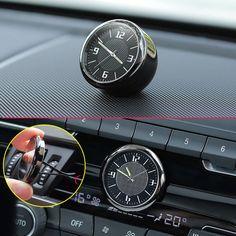 Metal Glossy Car Front Dashboard Air Vent Clock Time Reminder Accessories Parts Mercedes Benz Amg, Air Vent, Interior Decorating, Quartz, Clock, Ebay, Digital, Mazda, Decoration