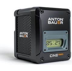 Anton Bauer Cine 150 VM - The CINE battery series is ideal for digital cinema cameras and camera stabilizer systems. Its durable, industrial design and footprint complements cine-style cameras such as the ARRI ALEXA Mini and RED Weapon and functions on all existing Anton/Bauer chargers.