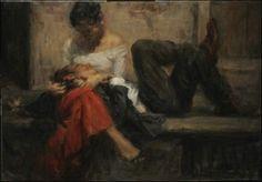 Amoureux en peinture - Ron Hicks (1965)