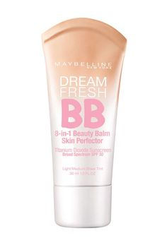 11 BB Creams ELLE Editors Swear By - Maybelline Dream Fresh BB Cream has 8 amazing skincare benefits. Blur, brighten, smooth, hydrate, and enhance - all in one lightweight formula. SPF 30 protects from harmful UV rays to maintain skin's radiance.