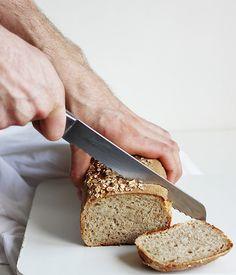 prosty chleb pszenno-żytni na zakwasie