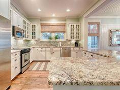 Coastal Kitchen Mint Julep Watercolor Florida Homes Kitchens