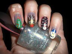 Hi5 ~Navidad~ http://kakelnails.blogspot.com.es/2014/01/hi5-navidad.html