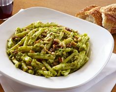 Veronica Bosgraaf, founder of Pure Bar and a lifestyle expert, brings us an easy vegan creamy pesto. It's perfect for everything from roasted chicken to Italian pasta dishes. Toast the pine nuts before adding to the mix for extra flavor. Click Here for More Pesto Recipes ...