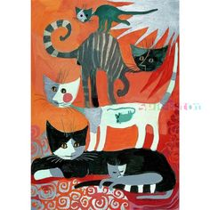 rosina wachtmeister - I just bought this framed at a garage sale,  huge print nicely framed for $40! This is the jigsaw puzzle.
